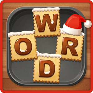 Word Cookies Cross Chocolate